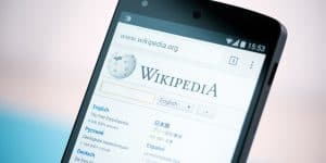 Wikipedia (Image source: thenextweb.com)